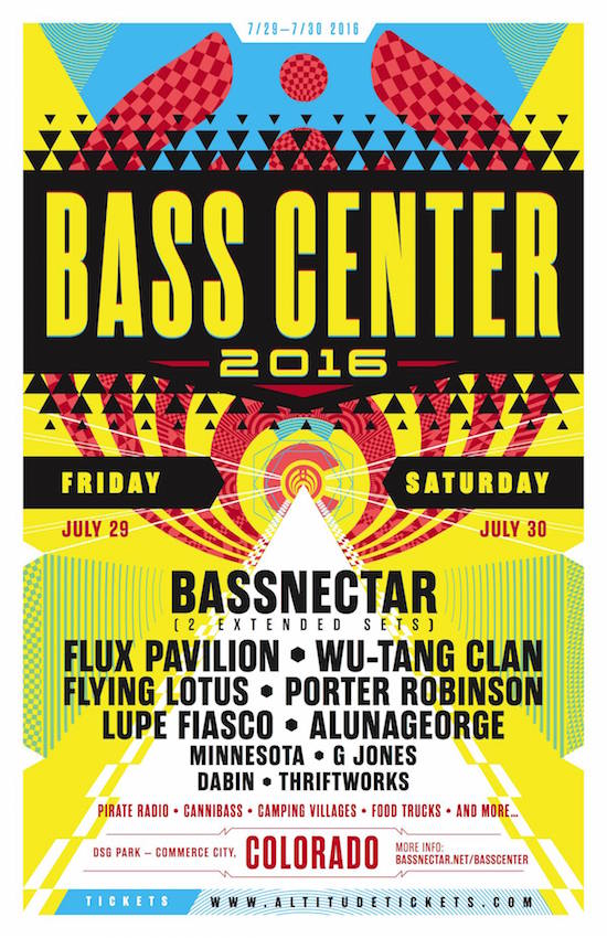 """Bassnectar's Camping Festival """"Bass Center"""" in CO – Tickets on Sale Friday1.15.2016!"""