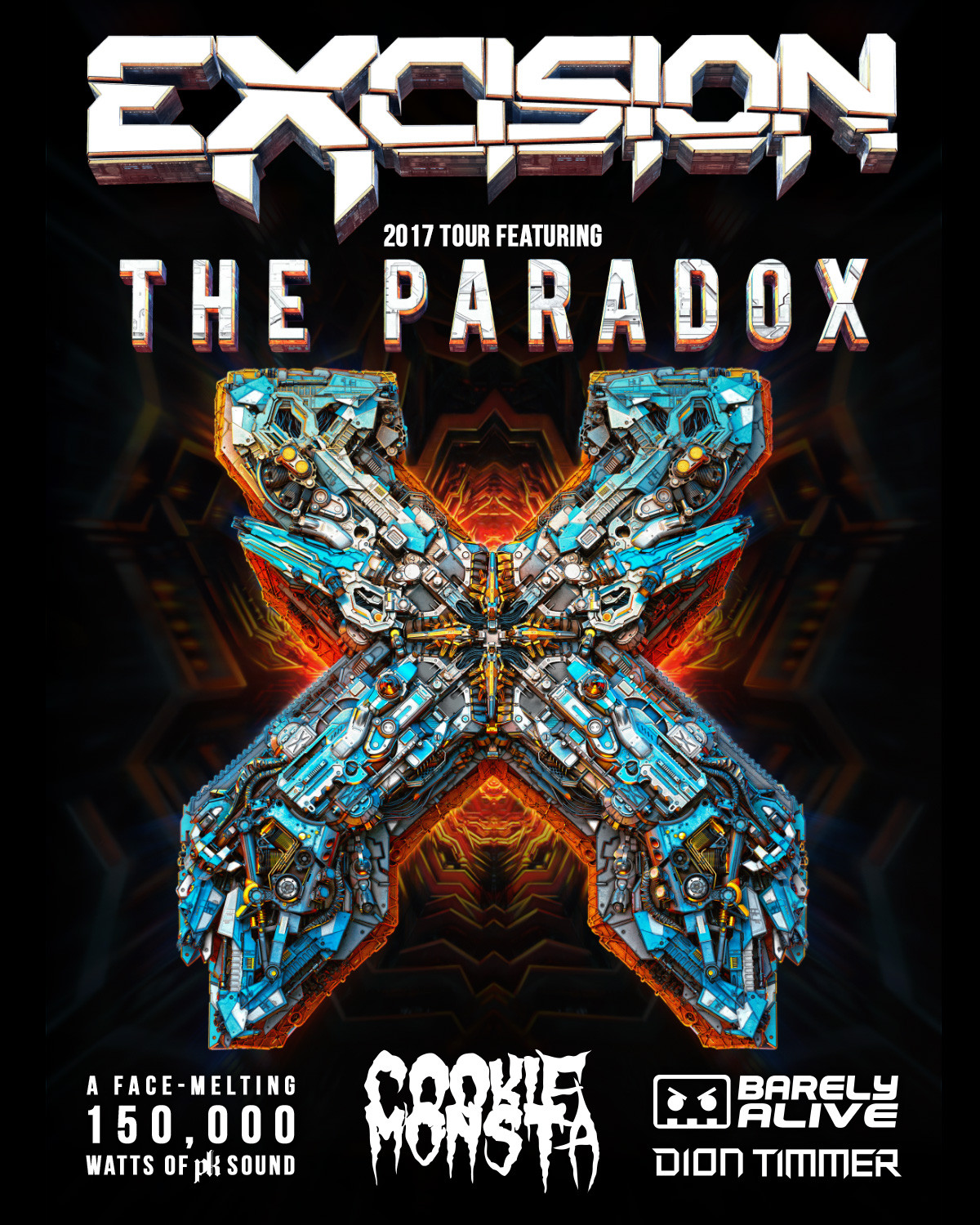 Excision PARADOX Tour Info and FREE Ticket GIVEAWAY!!!
